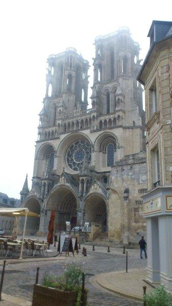 De kathedraal van Laon