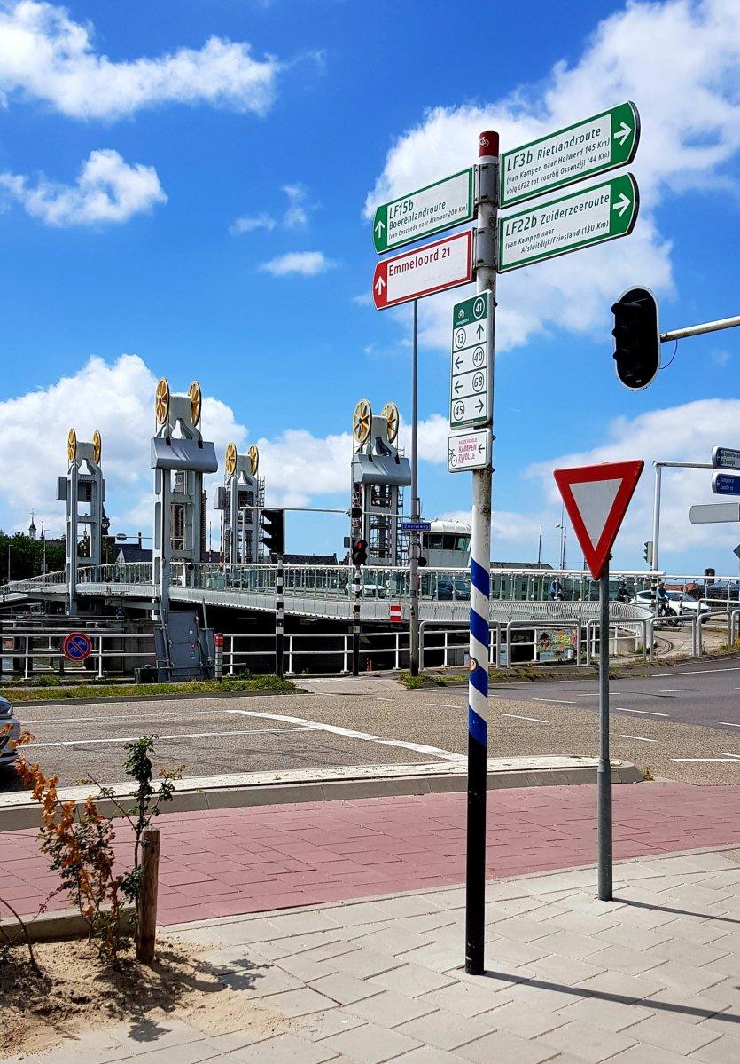 Dit is het begin van ... De Noordelijke Driehoek Dag 1: Zwolle - Blokzijl 55 km