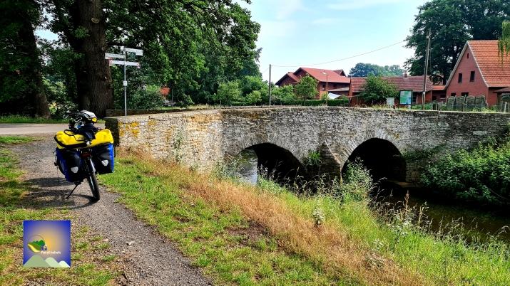 Bruckenradweg bij Bohmte